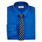 IZOD® Fashion Dress Shirt & Tie Set - Boys 8-20