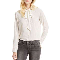 Levi's® Long-Sleeve Bowtie Shirt