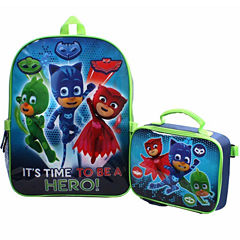Pj Masks Backpack With Lunch Box