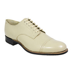 Stacy Adams® Madison Mens Low Cap-Toe Oxfords