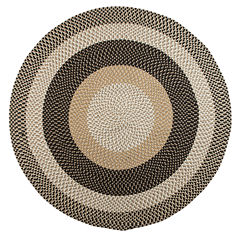 Colonial Mills® Plymouth Reversible Braided Indoor/Outdoor Round Rug