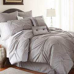 8-pc.Pleated Comforter Set Ella