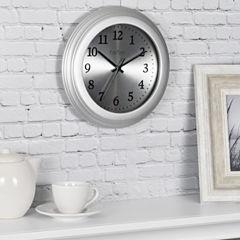 FirsTime® Sleek Steel Wall Clock