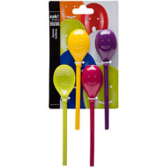 Zak Designs® Happy Face 4-pc. Mini Spoon Set