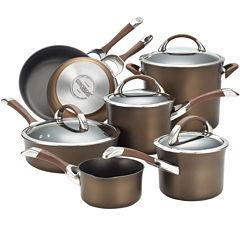 Circulon® Symmetry 11-pc. Hard-Anodized Cookware Set