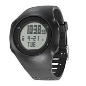 Soleus GPS Turbo Black Silicone Strap Running Digital Sport Watch