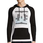 DC Shoes Co.® Long-Sleeve Square Hooded Pullover