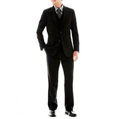 JF J. Ferrar® Black Stretch Suit Separate-Slim Fit