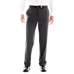 JF J. Ferrar® Stretch Gabardine Flat-Front Suit Pants - Classic Fit