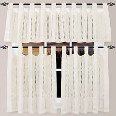 Park B. Smith Eyelet Kitchen Curtains