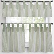 Park B. Smith Ticking Stripe Kitchen Curtains