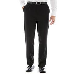 Dockers® Black Stripe Flat-Front Suit Pants