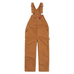 Dickies® Sanded Duck Bib Overalls - Toddler Boys 2t-4t