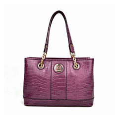 Liz Claiborne® Real Fit Satchel
