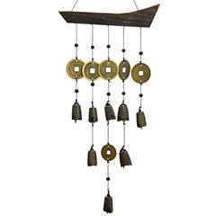 Oriental Furniture Tibetan Bell Wind Chime