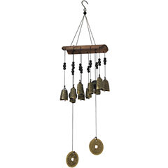 Oriental Furniture 10 Bell Wind Chimes