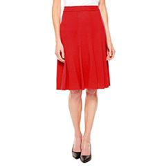 Sag Harbor Essentials Flared Skirt