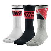 Nike® 3-pk. Dri-FIT Fly Rise Crew Socks – Big & Tall