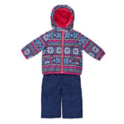 Carter's Girls Midweight Snow Suit-Baby
