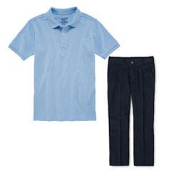 IZOD® Piqué Polo or Flat-Front Pants - Boys 8-20