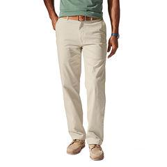 Dockers® D2 Washed Khaki Straight-Leg Flat-Front Pants