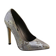 Michael Antonio Lamiss-Met Pointed-Toe Pumps