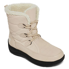 Totes Kim Lace-Up Winter Boots