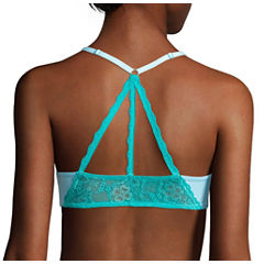 Flirtitude® My Fave Tee Lace Butterfly Back Strappy Bra