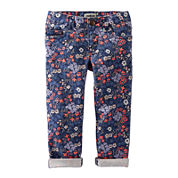 OshKosh B'gosh Floral Skinny Woven Pants - Toddler Girls 2t-5t