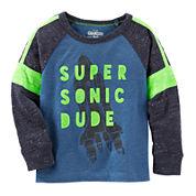 OshKosh B'gosh Long-Sleeve Super Sonic Tee - Toddler Boys 2t-5t