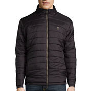 IZOD® Reversible Midweight Puffer Jacket