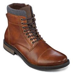 JF J. Ferrar® Garrett Mens Lace-Up Boots