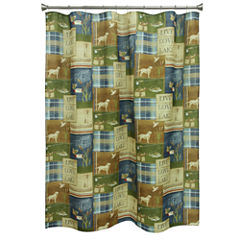 Bacova Guild Live Love Lake Shower Curtain