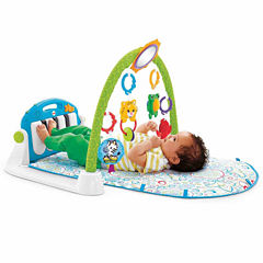 Fisher-Price First Steps Kick And Play Piano Gym Baby Activity Center