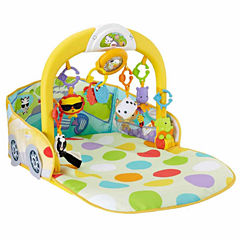Fisher-Price 3-In-1 Convertible Car Gym Baby Activity Center