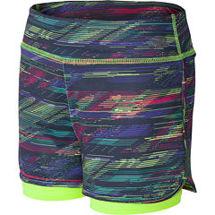 New Balance Pull-On Shorts Big Kid Girls