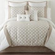 Quad 6-pc. Jacquard Comforter Set & Accessories