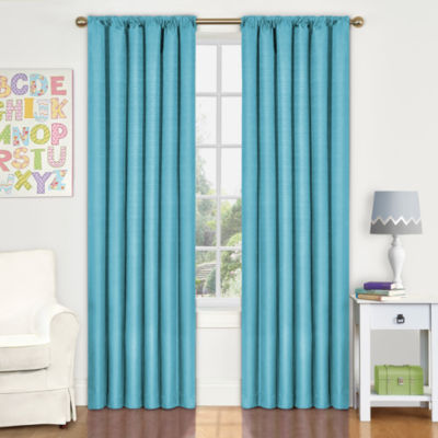 Eclipse® Kidsu0027 Kendall Rod Pocket Blackout Curtain Panel