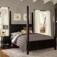 Rockbridge Poster Bed and Nightstand