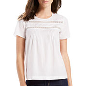 Levi's® Short-Sleeve Lace Top
