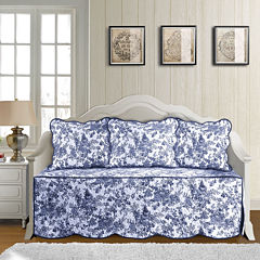 Toile Garden Daybed Cover