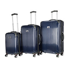 Chariot Travelware Paola 3-pc. Hardside Luggage Set