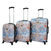 Chariot Travelware One World 3-pc. Hardside Luggage Set