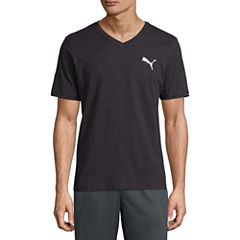 Puma Iconic Vneck Tee Short Sleeve T-Shirt