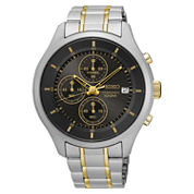 Seiko Mens Two Tone Bracelet Watch-Sks543