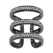 1 CT. T.W. White Diamond Cocktail Ring