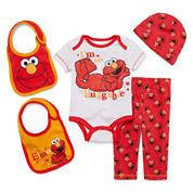 5-pc. Elmo Clothing Set - Baby Boys newborn-24m