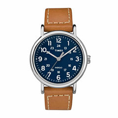 Timex Weekender 40 Mens Brown Strap Watch-Tw2r42500jt