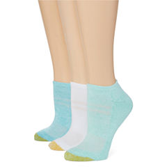 Gold Toe®3-pk. Ultra Soft Micromesh No-Show Socks