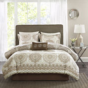 Madison Park Essentials Medina Complete Bedding Set with Sheets
